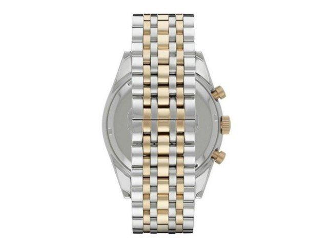 b9a9d24815e Relógio Emporio Armani Classic AR5905 Prata Dourado
