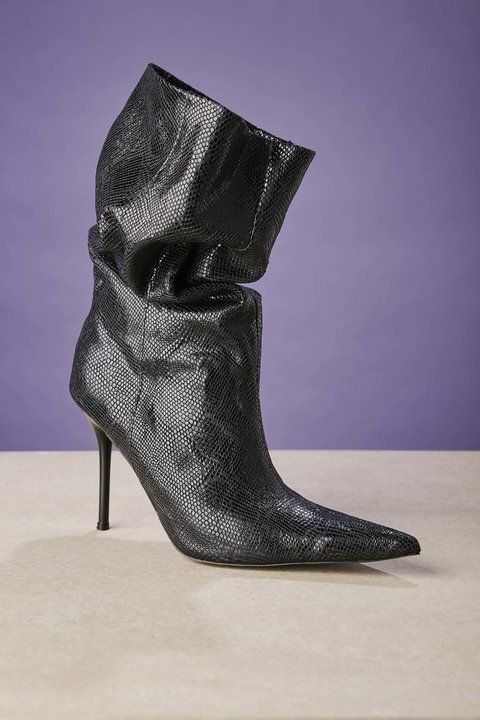 BOTA SANDY BLACK REPTIL BRILLO