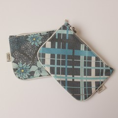 Monedero Susques, Super Tartan Celeste