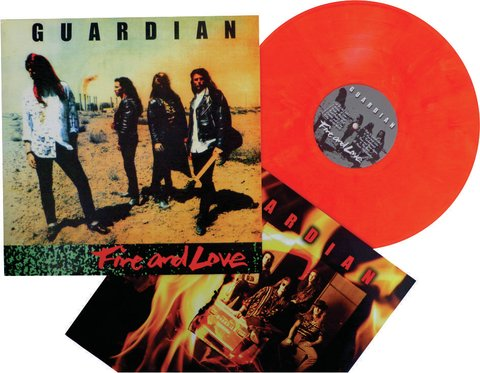 GUARDIAN - Fire and Love (vinil laranja)