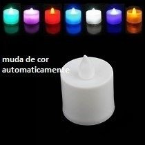 20 Mini Velas De Led Decorativas - Baterias Inclusas - comprar online
