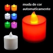20 Mini Velas De Led Decorativas - Baterias Inclusas
