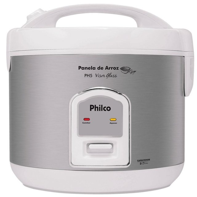 Panela de arroz PH5 Visor Glass Branca 220v