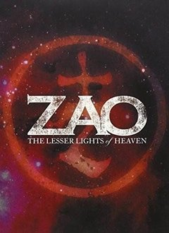 Zao - The Lesser Lights of Heaven DVD (duplo) Importado (lacrado) - Raro