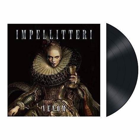 Impellitteri - Venom Lp (limited Edition 350x) Raro Lacrado