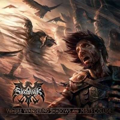 Slechtvalk - Where Wandering Shadows Mists Collide CD