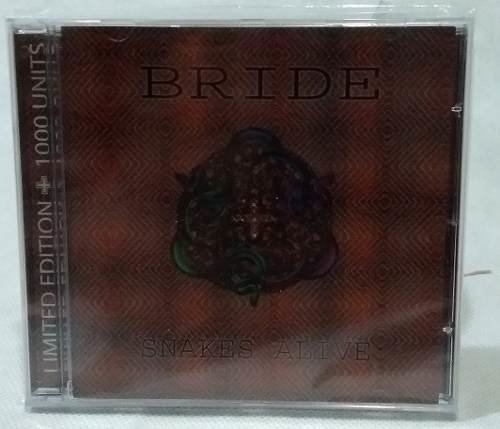 Bride - Snakes Alive Cd (limited Edition) Raro