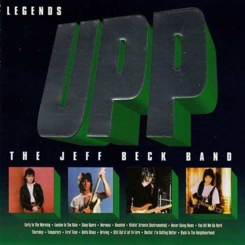 Jeff Beck - Legends Upp - CD Importado United Kingdom (Shanghai Music 1994)