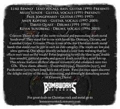 Crimson Thorn - Anthology Of Brutality:1992-2002 - Cd Triplo - loja online