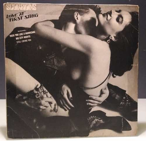 Scorpions - Love At First Sting - (lp Vinil C/ Encarte)
