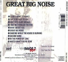 Arlen Salte - Great Big Noise (Cd Raro 1991) - comprar online