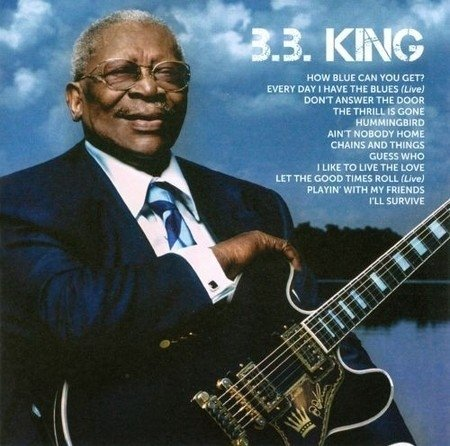 B.B. King - Icon CD (Classic Blues Rock) 2011