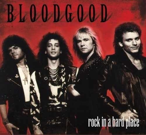Bloodgood - Rock in hard place CD (Retroactive Records 1988/2015) Classic
