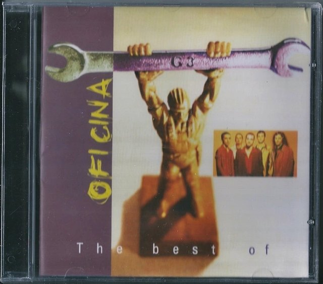 Oficina G3 - The Best of CD - Raro (PROMO 50)