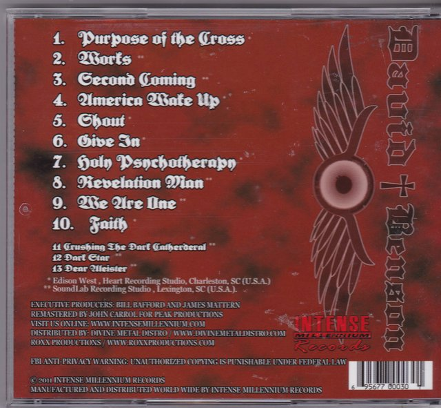 David Benson - Purpose Of The Cross + Bonus - Intense Millenium 2011 - comprar online
