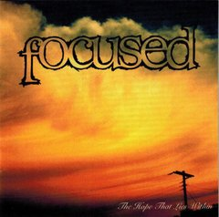 Focused - The Hope That Lies Within CD Raro (Tooth Nail 1995)