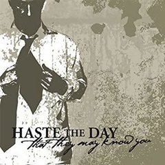 Haste The Day - That They May Know You CD  Raro