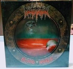 Mortification - Blood World LP (Limited Ed) Vinil Raro - Lacrado - comprar online