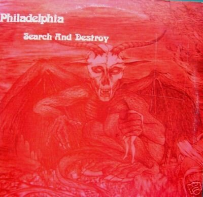 Philadelphia - Search And Destroy (Cd Raro - Limited Edition) Magdalene Records 1985/2000