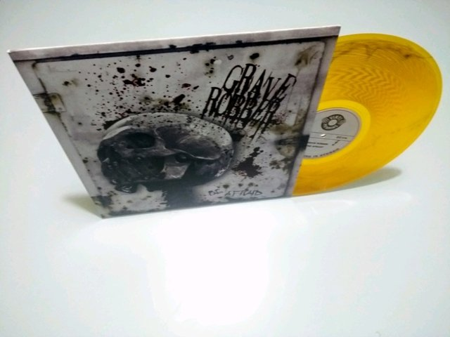 Grave Robber LP - Be Afraid - Vinil Yellow 2011 - Alerta Records
