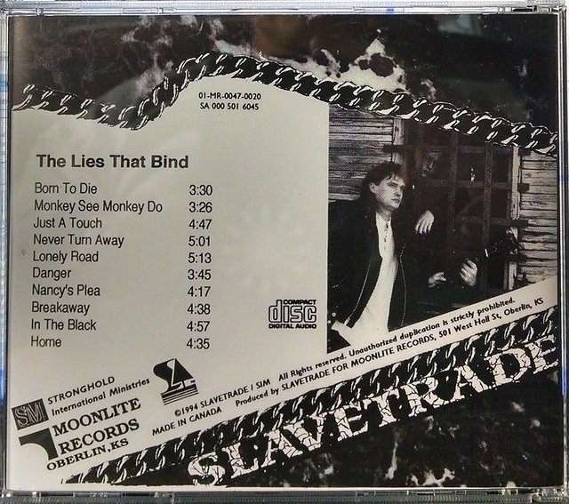 Slavetrade - The Lies That Bind ( Moonlite Records1994) Cd Ultra Raro! - comprar online