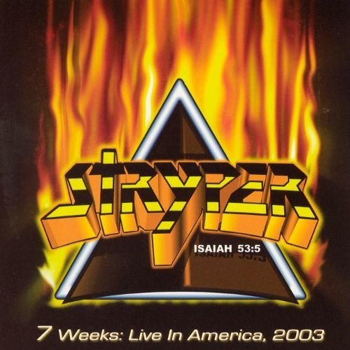 Stryper - 7 weeks Live in America 2003 cd