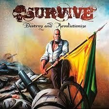 Survive - Destroy and Revolutionize (Cd do underground nacional raríssimo de colecionador)