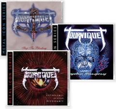 Tourniquet Combo Classic (03 cds) Remastered Retroactive Records