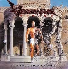 Vengeance Rising - Destruction Comes CD  first press Intense Records 1994 Raro
