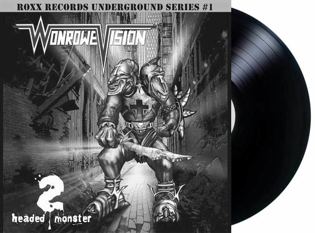 Wonrowe Vision - Head Monster - Limited Ed. - Numerado 150x - Mortification