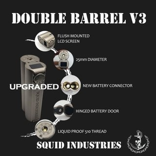 Mod - Squid Industries - Double Barrel V3 150W