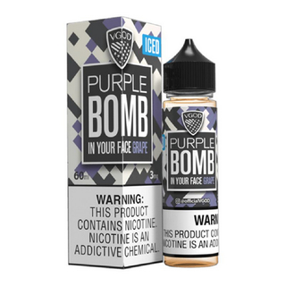 Juice - Vgod - Purple Bomb Iced - 60ml