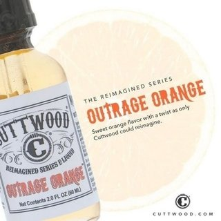 Juice - Cuttwood - Outrage Orange - 60ml