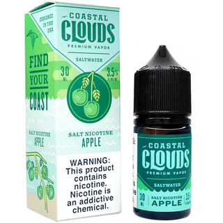 SaltNic - Coastal CLoudz - Apple - 30ml