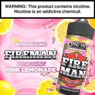 Juice - One Hit Wonder - Fire Man -100ml