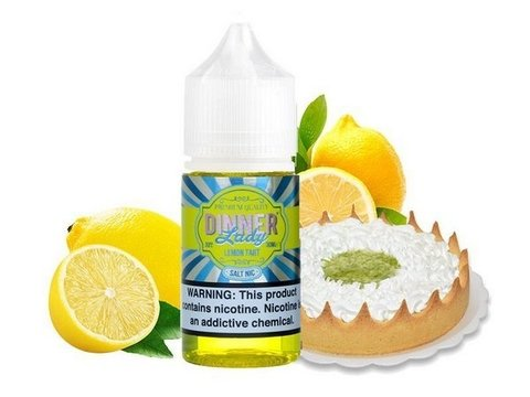 SaltNic - Dinner Lady - Lemon Tart- 30ml