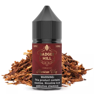 SaltNic - Badger Hill Reserve - American Way - 30ml