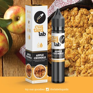 Juice - Custard Lab - Apple Crumble - 30ml