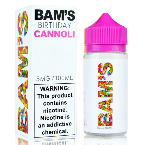 Juice - Birthday Cannoli - Bam'S Collection - 100ml
