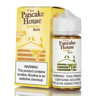 Juice - The Pancake House - Banana Nuts - 100ml