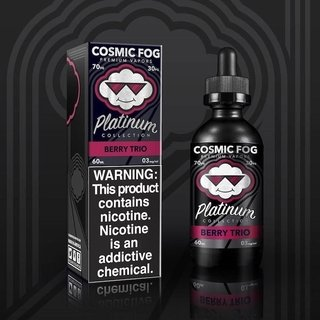 Juice - Cosmic Fog Platinum - Berry Trio - 60ml