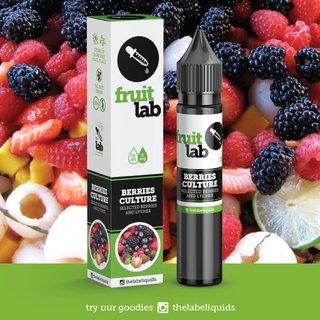Juice - Fruit Lab - Berries Culture - 30ml