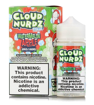 Juice - Cloud Nurdz - Iced Watermelon Apple - 100ml