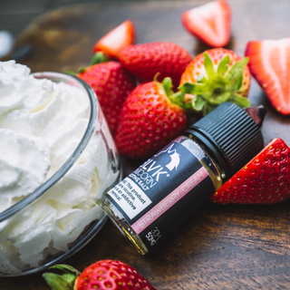SaltNic - Blvk - Strawberry Cream- 30ml
