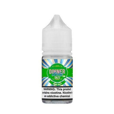 SaltNic - Dinner Lady- Apple Sours - 30ml