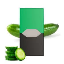 Refil Juul - Cool Cucumber 50Mg - (Cucumber)-(4 Unidades)