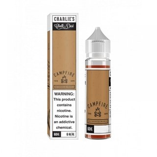 Juice - Charlie'S Chalk Dust - Campfire Outdoor & Smores - 60ml