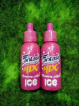 Juice - Fantasi - Strawberry Apple Ice - 65Ml