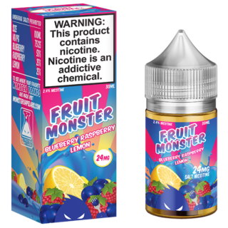 SaltNic - Jam Monster - Blueberry Raspberry Lemon - 30ml