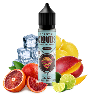 Juice - Coastal Clouds - Blood Orange Snow Cone Iced - 60ml